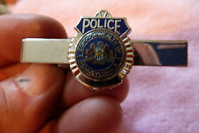 State of Pennsylvania Police Department Tie Clip