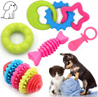 Dog Chew Toys Set Puppy Teething for Small Dogs Toothbrush CPT
