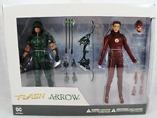 DC DIRECT The Flash and Arrow TV Action Figure 2-Pack