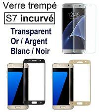 S7 Film intégral incurvé verre Trempé 3D Galaxy S7 couverture totale arrondi