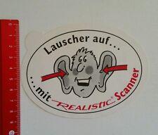 Autocollant/sticker: realistic scanner (06071643)
