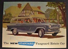 1960 Standard Vanguard Estate Wagon Brochure Folder Excellent Original 60