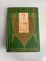 1901 Vintage Collectable BEN - HUR by Lew Wallace The Player's Edition