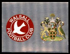 Panini Football League 95 – Badges Walsall (a) - Wigan Athletic (b) No. 596