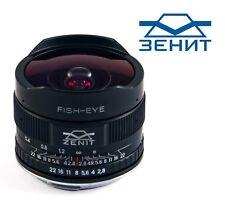 *Brand New* Zenit MC Zenitar-C 16mm F/2.8 Fisheye Canon Mount *New Version*