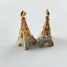 25X Vintage Style Rose Gold Tone Eiffel Tower Pendant Charms New 23*10*10mm