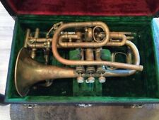 Antique Lyon and Healy Brass Cornet