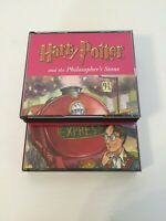 HARRY POTTER AND THE PHILOSOPHER'S STONE AUDIO BOOK 7 CDS READ BY STEPHEN FRY