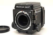[Exc+] Mamiya RB67 Pro S Medium Format Film Camera w/ WLF, 120 Film Back Japan