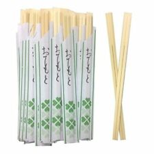 x10 BAGUETTES JAPONAIS JETABLE ECO BOIS ECOLOGIQUE CHOPSTICKS SUSTAINABLE WOOD