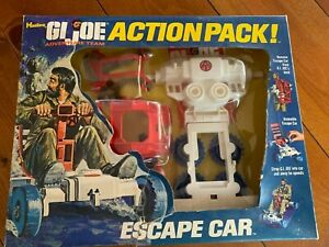 1970s GI Joe Adventure Team action pack escape car complete w/box & insert