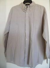 GREG NORMAN Collection Long Sleeve Beige  Button Down Shirt Mens L
