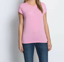 "6.3954 Designer Modal-Shirt mit Metallgarn ""rosa"" Gr. 40"