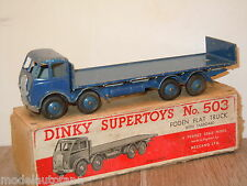 Foden Flat Truck with Tailboard van Dinky SuperToys 503 England in Box *15478