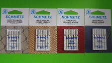 20 SCHMETZ Nähmaschinen Nadeln Flachkolbennadeln, Stretch, Jersey, Leder, Jeans