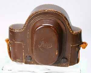 LEATHER LEICA CAMERA CASE FOR SCREWMOUNT CAMERA + UNIVERSAL FINDER VIOOH IMARECT