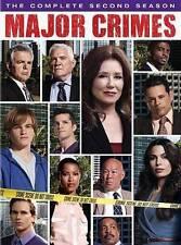 Major Crimes: The Complete Second Season (DVD, 2014, 4-Disc Set) BRAND NEW