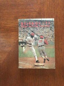 '71 Orig Cuban Baseball League Official Records Statistics Photos Yearbook GUIA