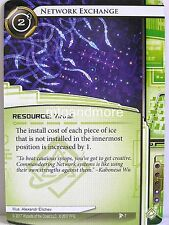 Android netrunner LCG - 1x #007 Network Exchange-Dédalo Complex