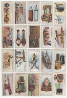 1915 Wills's Cigarettes Famous Inventions Tobacco Cards Complete Set of 50