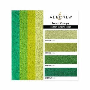 Altenew Forest Canopy Glitter Gradient Cardstock Set  16pk