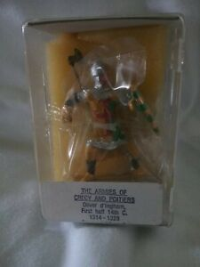 Reeves Int'l 54mm lead soldier Oliver d'Ingham armies of Crecy & Poitiers MIB