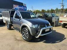 2008 MITSUBISHI TRITON GXL TURBO DIESEL CAB/CHASSIS UTE TRAY CANOPY MANUAL hilux