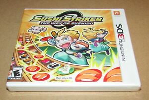 Sushi Striker: The Way of Sushido (Nintendo 3DS) Brand New / Fast Shipping