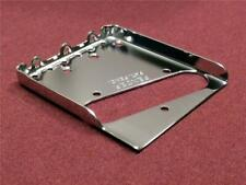 Fender Telecaster Bridge Plate w/ Notched Flange for use with a Bigsby Vibrato