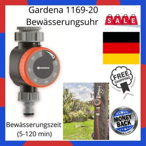 Gardena 1169-20 Bewässerungsuhr Automatische Zeitschaltuhr Bewässerung Garten