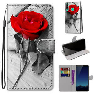 For Huawei P30 P40 Lite P Smart 2020 Flip Magnetic Leather Wallet Case Cover