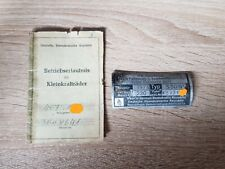Simson S50 Original DDR Papiere + Original Typenschild