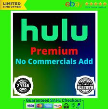 HULU PREMIUM 🎥 No Commercials   Live Tv LIFETIME