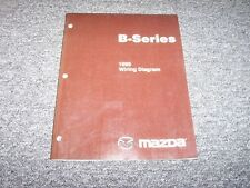 1999 Mazda B4000 B3000 B2300 B-Series Truck Electrical Wiring Diagram Manual