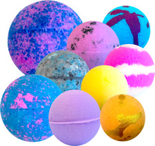 x10 Mixed Random Bath Bombs (80g-5cm) bulk joblot wholesale