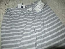 nwt Gap Kids gray stripe lounge / pajama pants girls 14 free ship Us