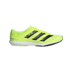 adidas Adizero Bekoji 2 Men's Road Running Shoes, Solar Yellow