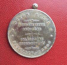 Congo Belge -Très Rare Médaille  SOUS-CHEFFERIE INDIGENE vers 1910 - VAR.1