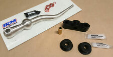 B&M Dual Bend Short Shifter & BLACK Bushings Kit Civic CRX 88-00 D16Y D16Z SOHC