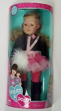 "Madame Alexander What A Doll 18"" Blond Blue Eyes Girl 2012 New In Box"