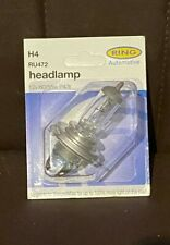 H4 (2x) Ring Automotive RU472 Car Van 12V 60/ 55W Headlamp Headlight Bulb