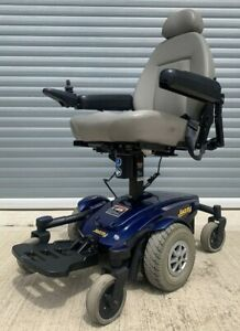 Pride Jazzy Select Used Electric Wheelchair Powerchair Indoor Seat Riser