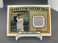 2021 Topps Heritage Gleyber Torres Clubhouse Collection Relic Yankees