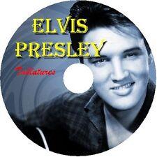 ELVIS PRESLEY BASS & GUITAR TAB TABLATURE CD BEST OF GREATEST HITS ROCK 'N ROLL