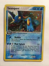 Pokemon: Swampert 5/17 Pop Series 1 Holo Promo Light Play