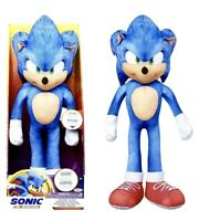 Sonic the Hedgehog Movie 13 Inch Talking Sonic Plush NEW In Box 2020 Toy Sale