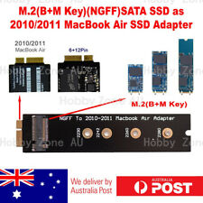 M.2 B-Key NGFF SATA SSD to 2010/2011 Macbook Air 6+12 Pin SSD Adapter Converter