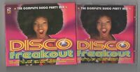 DISCO FREAKOUT ~THE COMPLETE DISCO PARTY MIX~ *DOUBLE CD* FREE P&P