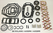 Jeep AX5 5 Speed Transmission Bearing Kit with Synchro Rings & 5th Gear Clamp
