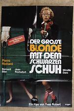 (P158) KINOPLAKAT Der große Blonde mit dem schwarzen Schuh (1972)
